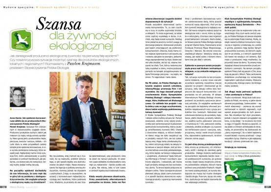 Nowy wywiad z prezesem Polskiej Ekologii