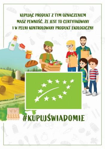 plakat Rolnictwo Eko 2020
